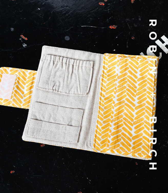 Picture of Macaulay Gadget Wallet PDF Pattern with Video Tutorial