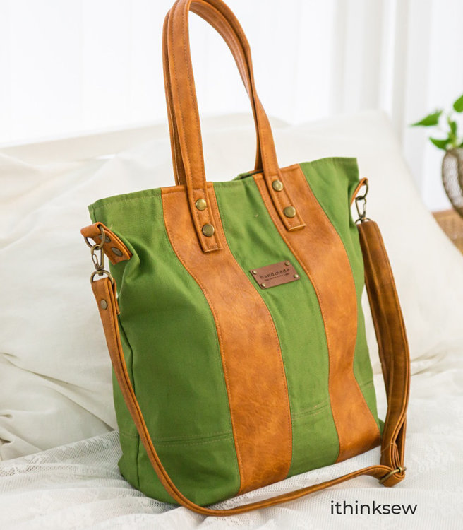 Picture of Winona Tote Bag PDF Pattern
