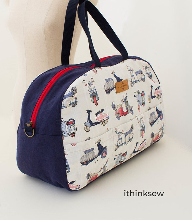 Picture of Arnold Travel Bag PDF Pattern