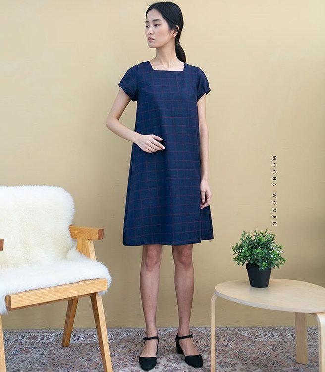 Picture of MOCHA Wynne Dress Paper Pattern (3295_3269)