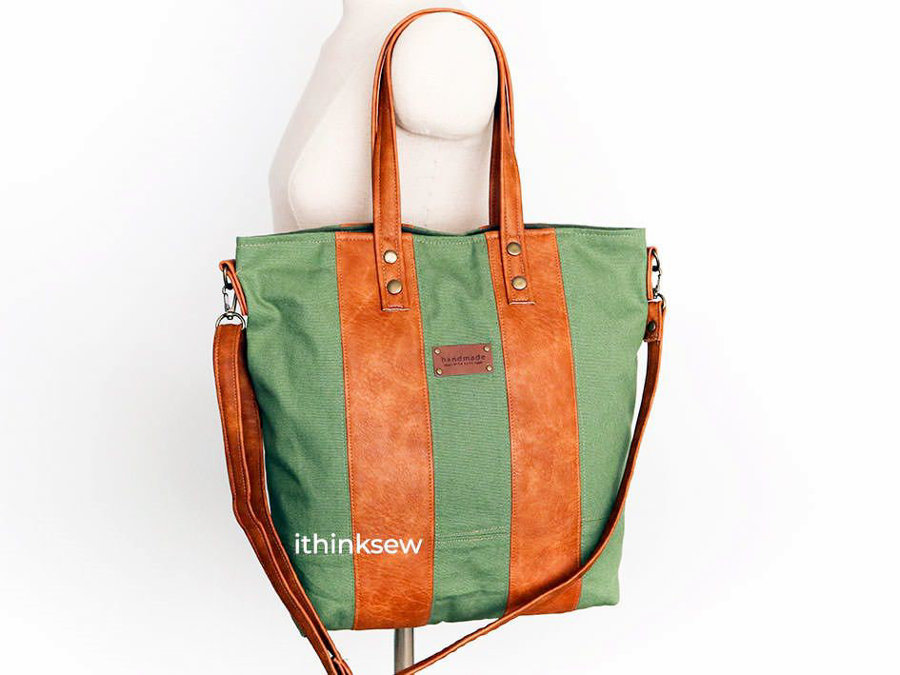 Tote & Cross Bag!? Two in One Bag!