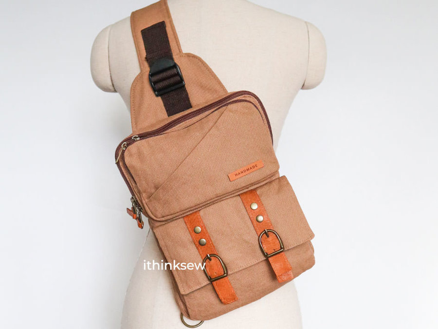 No Bias Binding Required Brand New Style, New method Sling Bag for tablet, iPad