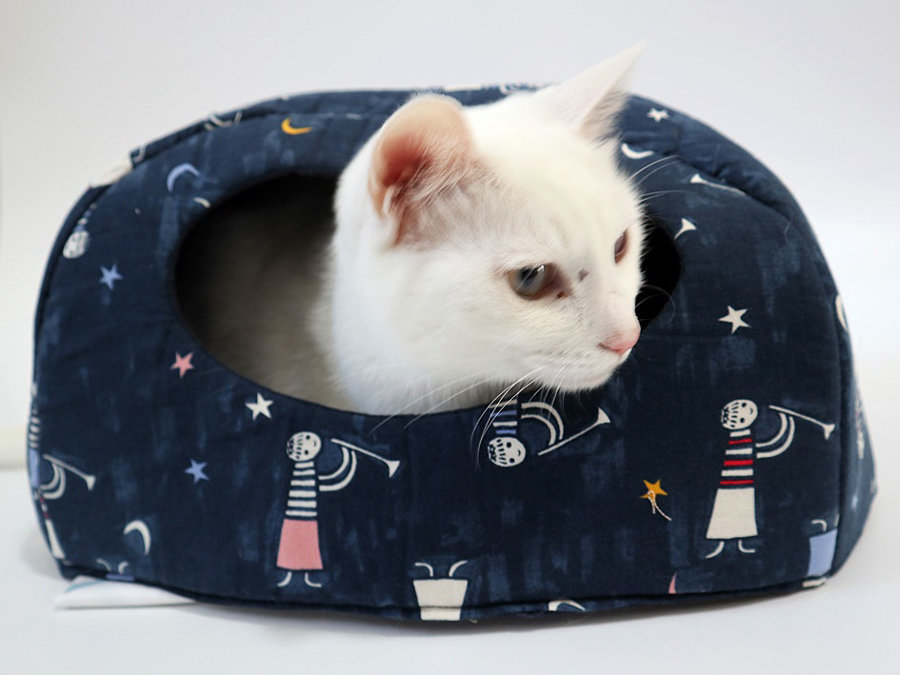Free Cat House Pattern and Video Tutorial