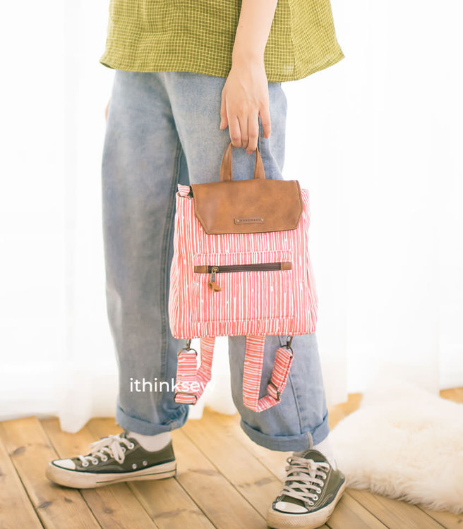 Picture of MOCHA Cyndi Tank Top/Dress and Oakley backpack PDF Pattern Combo
