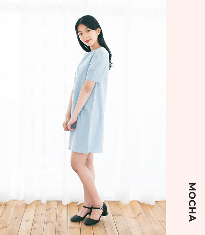 "Picture of MOCHA Eleri Dress PDF Pattern (#3566) - 4 Kinds of Paper(A4, US Letter, A0, 36""x48"")"