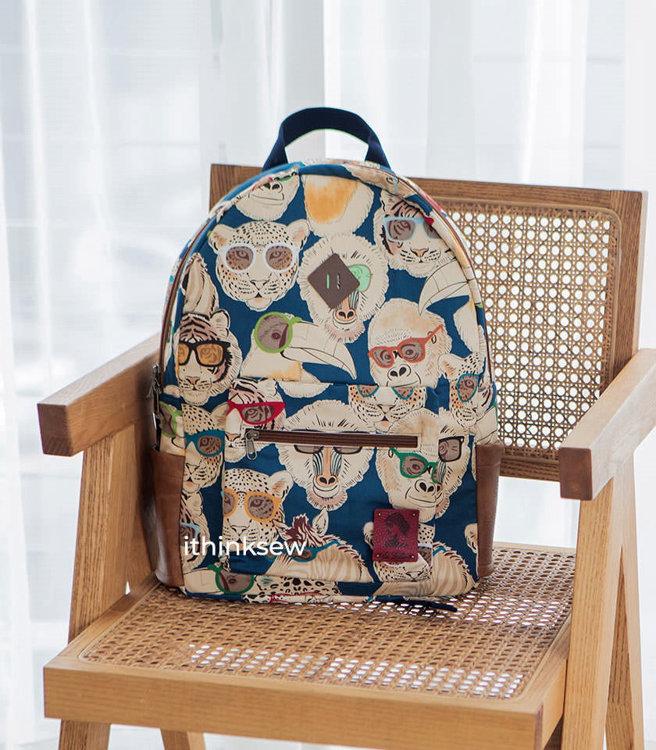 Picture of Ewan School Backpack PDF Pattern