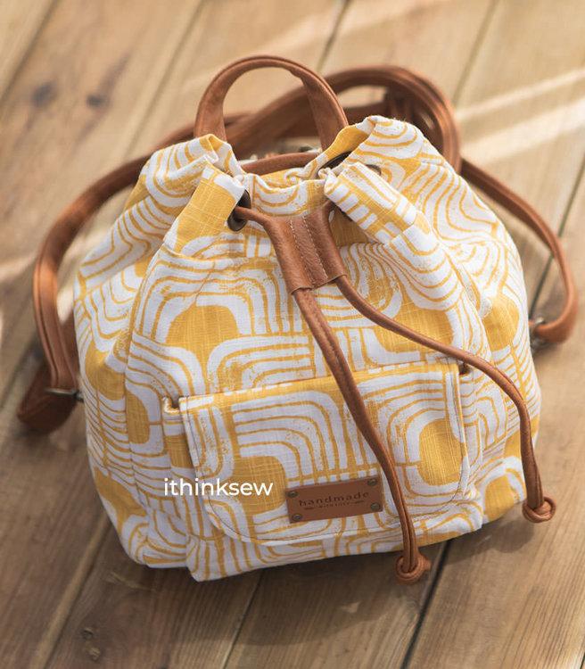 Picture of Ocean Bucket Backpack PDF Pattern