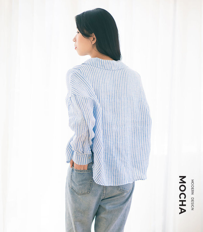 """Picture of MOCHA Gurveer Shirts PDF Pattern - 4 Kinds of Paper(A4, US Letter, A0, 36""""x48"""")"""