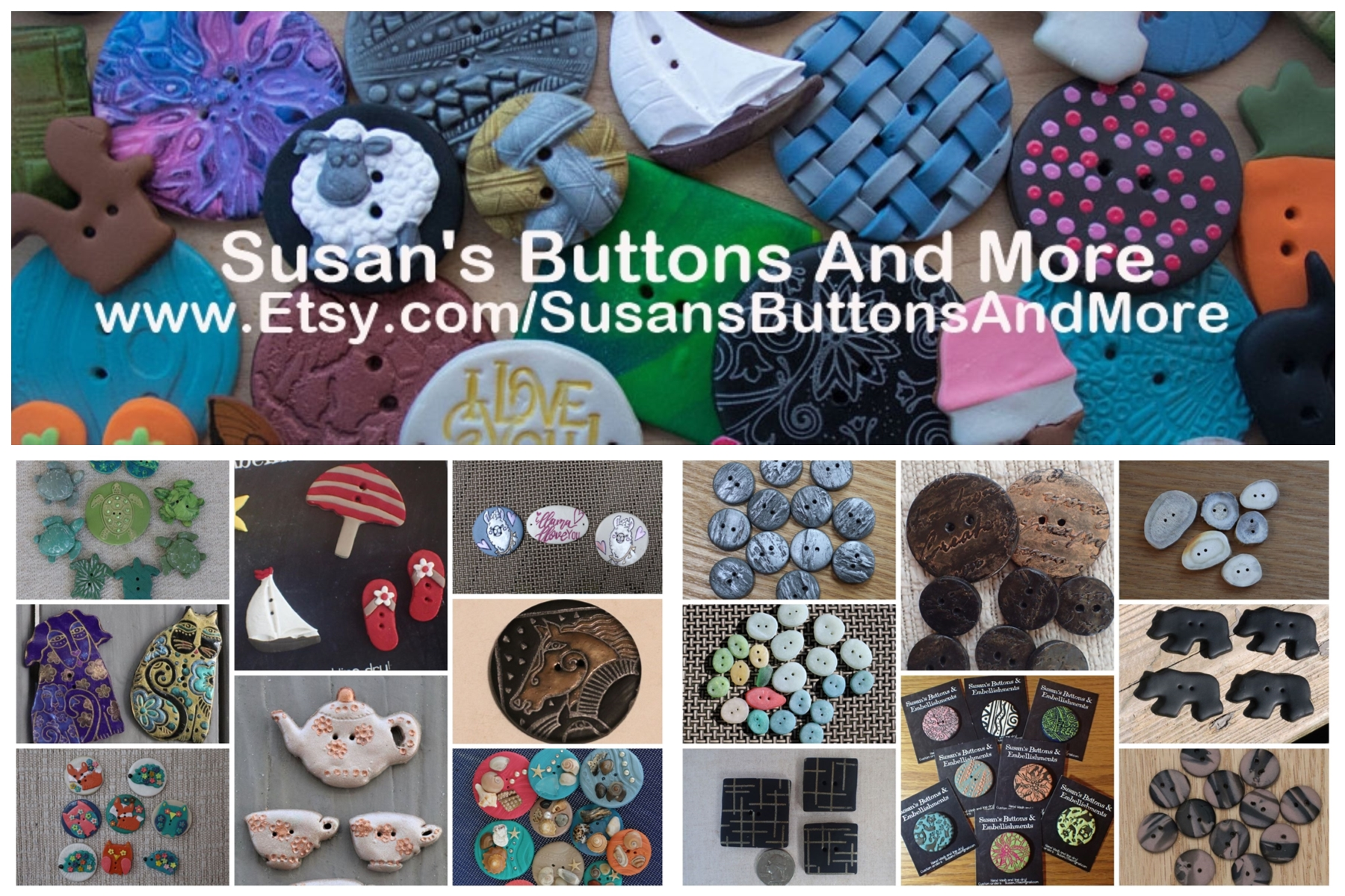 Susan's Buttons And More